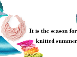 It Is The Season For Knitted Summer Shawl