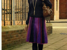 Transition To Spring With Fabulous Knitted Skirt