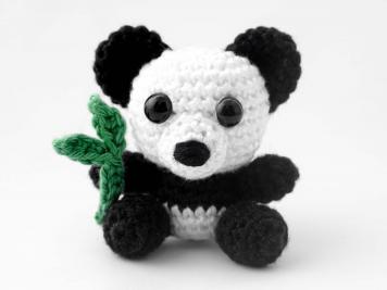 Amigurumi - Panda