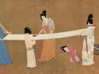 Hiyahiya S History Of Knitting Silk And The Empress