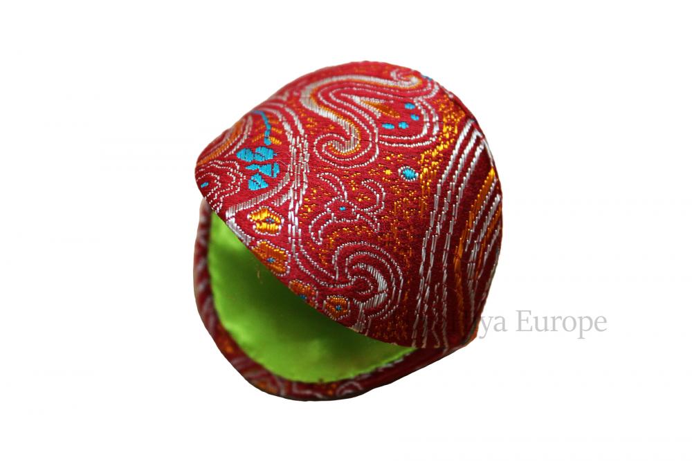 Dumpling Case and Coloured Stitch Markers Set, Image-4