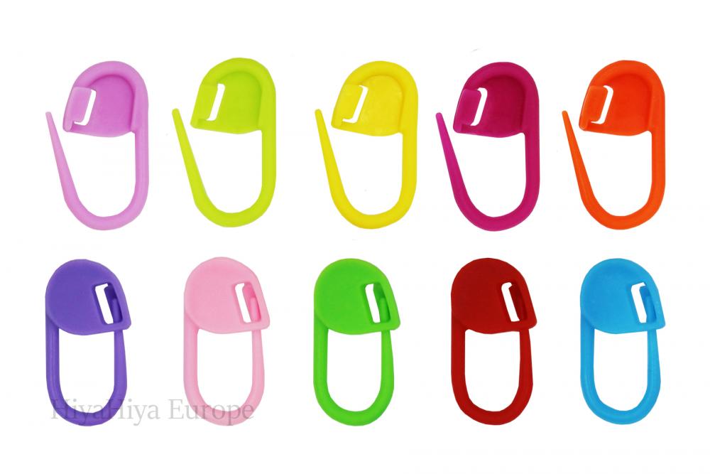 Dumpling Case and Colour Locking Stitch Markers Set, Image-1