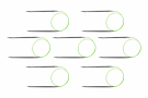 """Ultimate Collection 20"""" Steel Fixed Circular - SAVE 50%"""