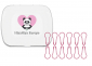 Notion Tin with Pink Knitter's Safety Pins, Image-0