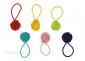 Mixed Yarn Ball Stitch Markers Bundle, Image-1