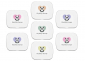 Notion Tin with Coloured Yarn Ball Stitch Markers Bundle, Image-1