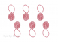 Pink Yarn Ball Stitch Markers Bundle, Image-1