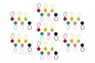 Yarn Ball Stitch Markers Bundle