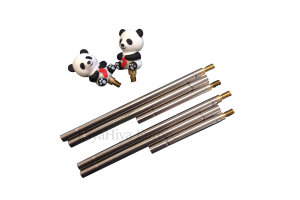 Straight Needles with Panda Stoppers
